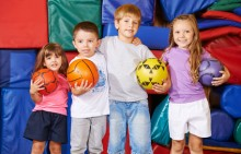 children playing and learning - Sage Institute of Child Care