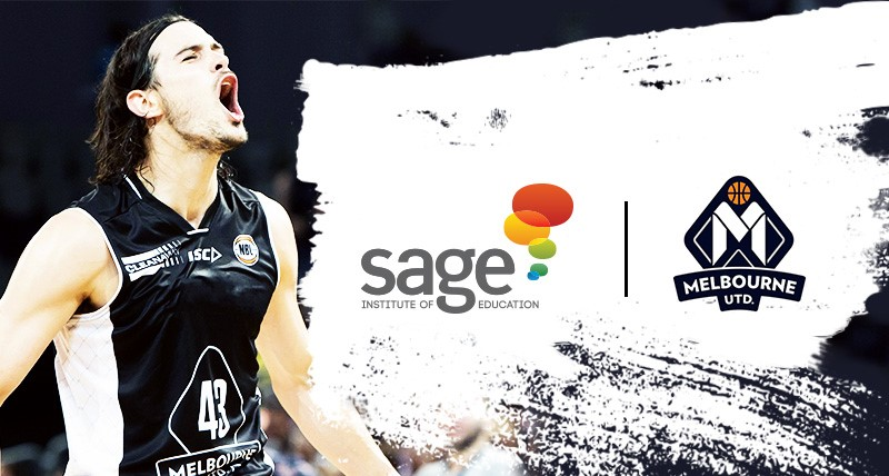 Sage Institute of Education sponsors Melbourne United - Sage Institute of Child Care